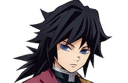 冨岡義勇とみおかぎゆう髪型髪色ヘア短髪